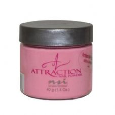 NSI Attraction Acrylic Nail Powder - INTENSE PINK 40g
